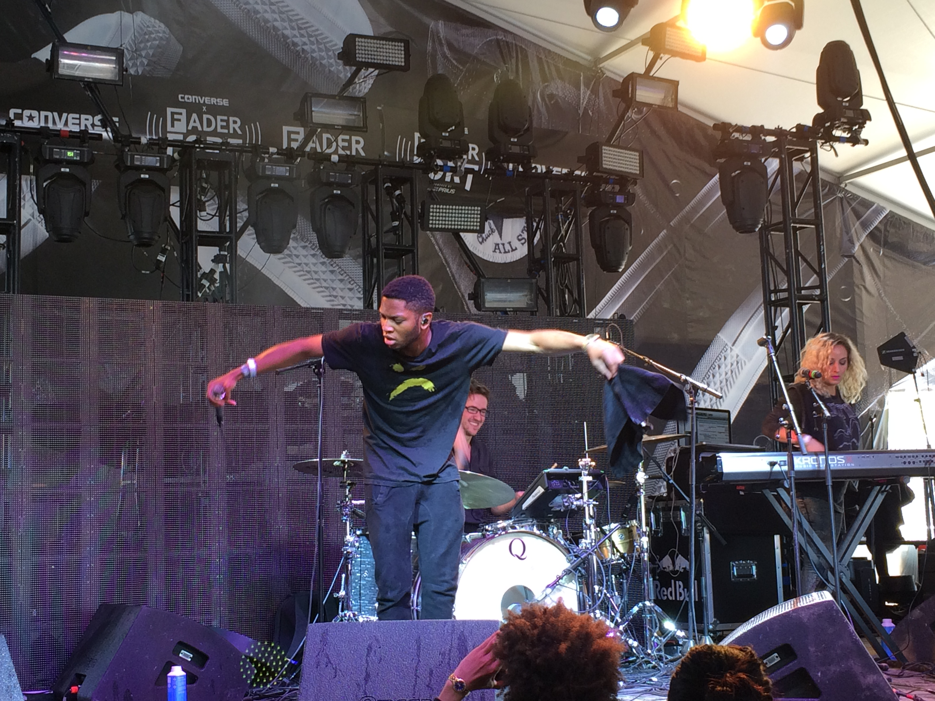 Gallant performs at SXSW