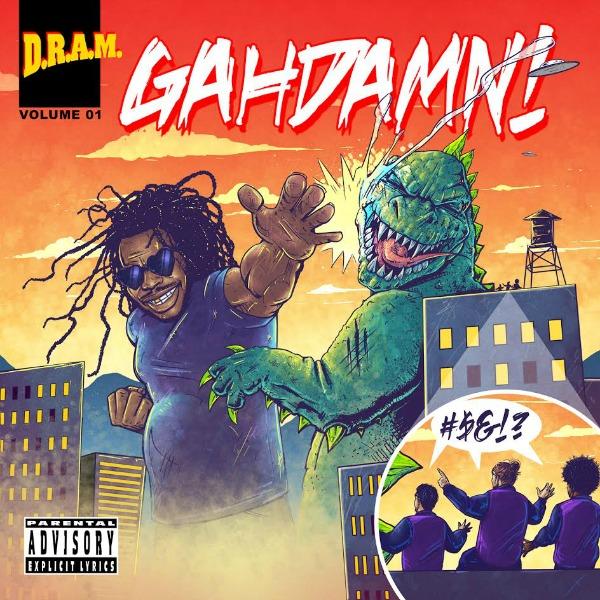 DRAM-gahdamn-cover