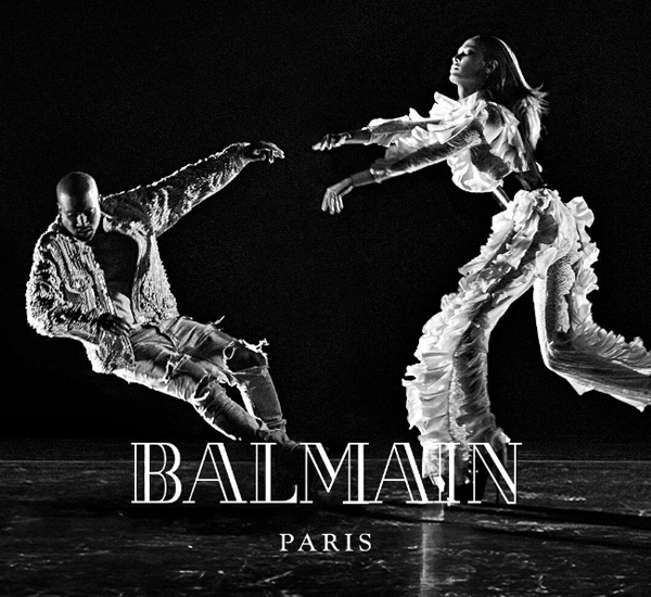 Image via Balmain on Twitter