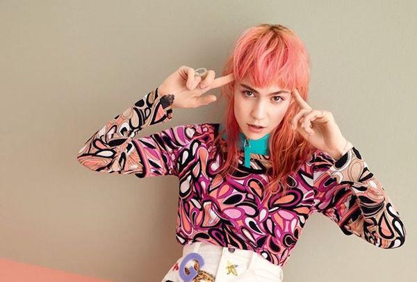 Image via Grimes on Facebook / Teen Vogue