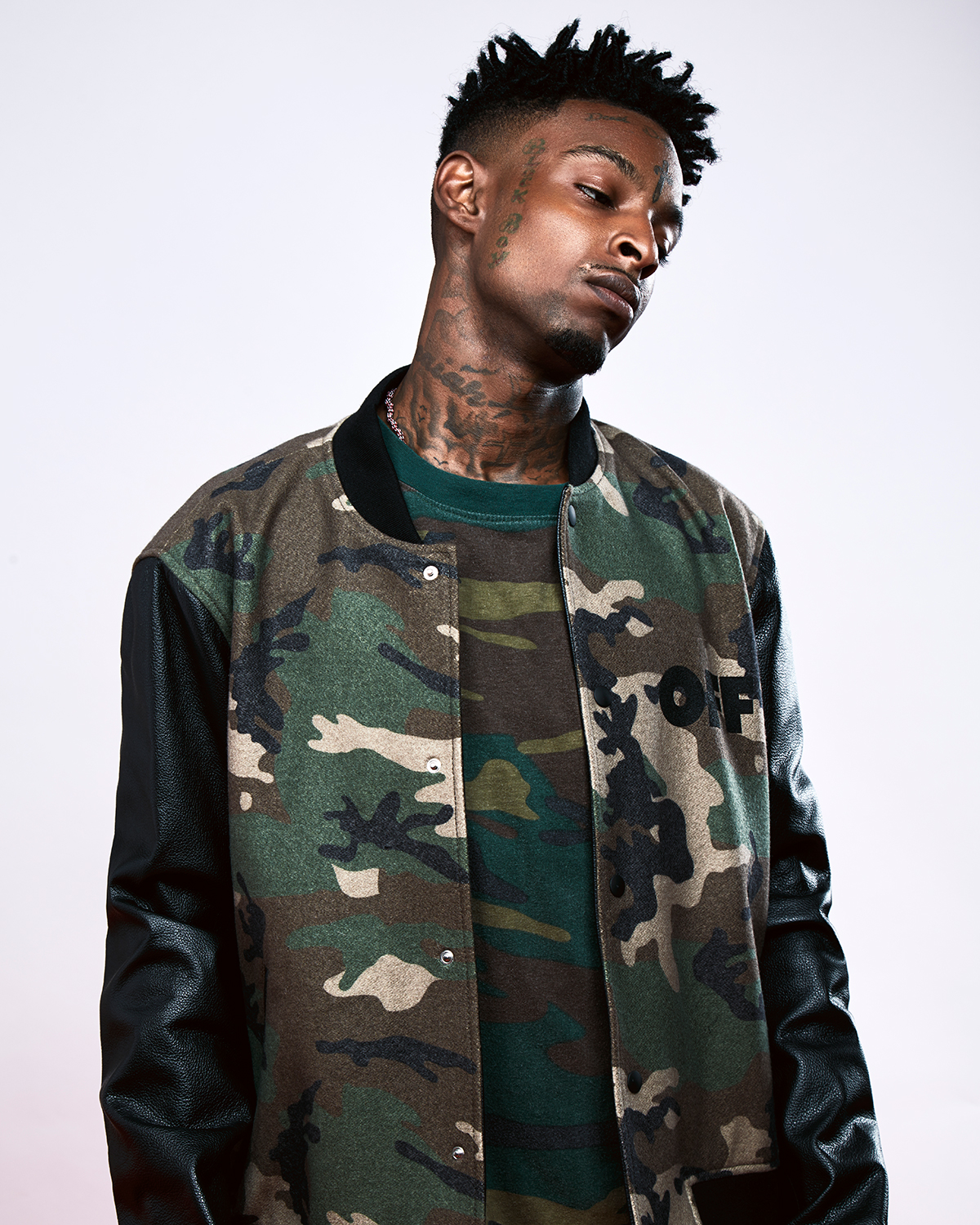21 Savage Stars In Lookbook Modeling Virgil Abloh S Off