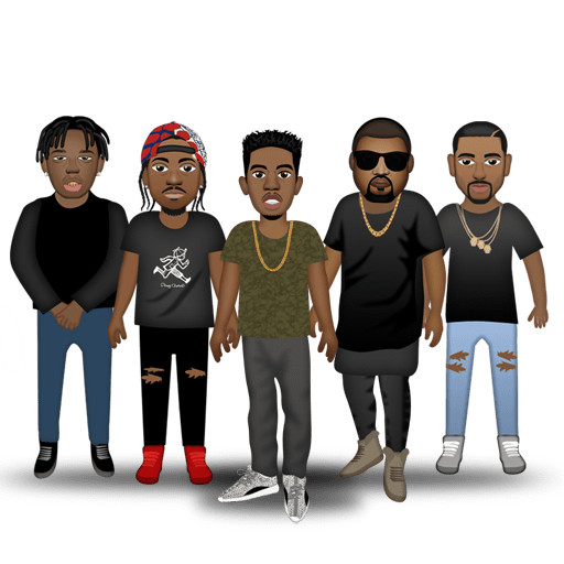 "Exclusive: Desiigner Releases Emoji Pack Featuring Kanye, Pandas, and ""Broads in Atlanta"" news"