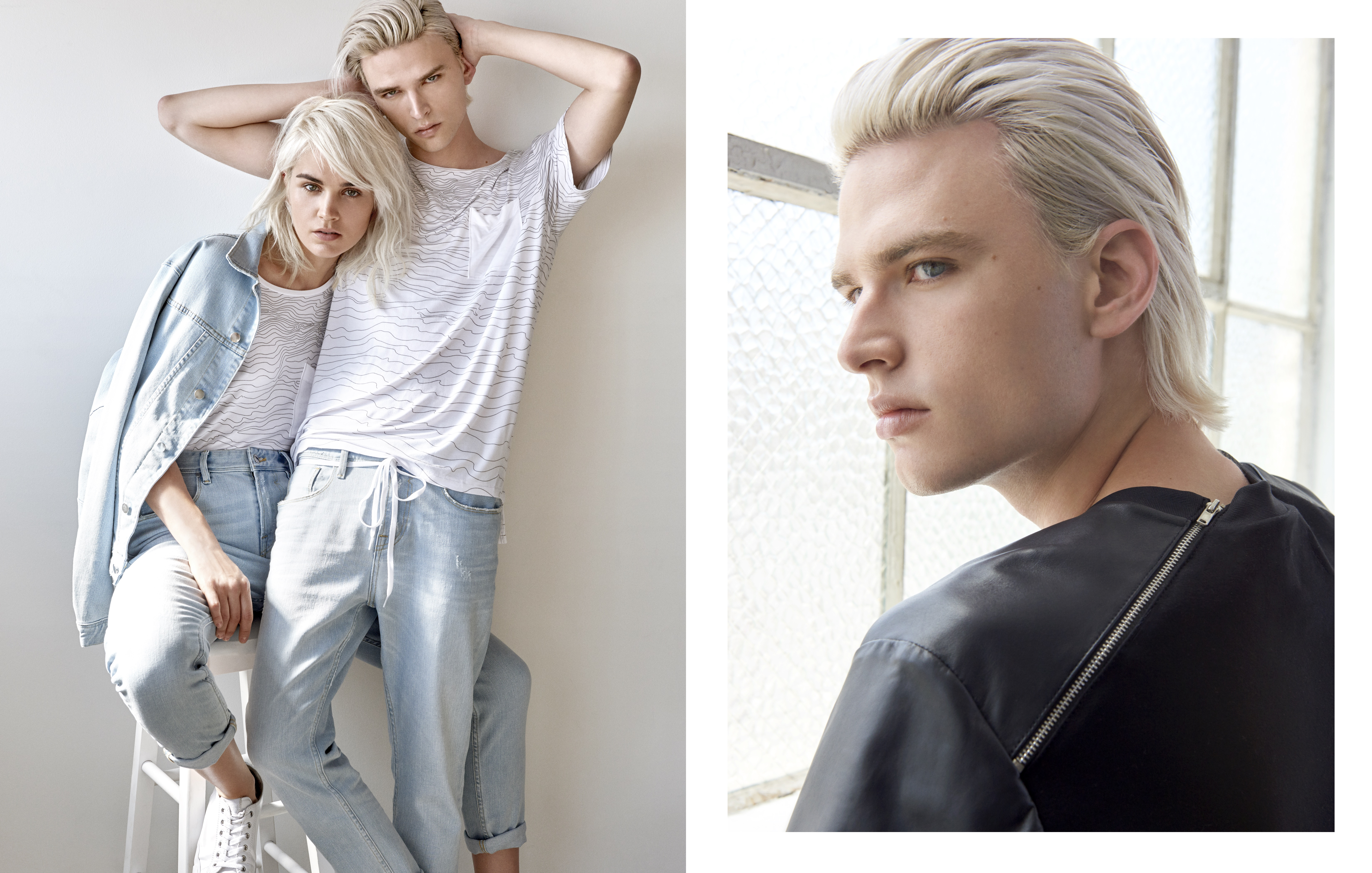 Guess' His + Hers Line Shows Unisex Clothes Are More Than