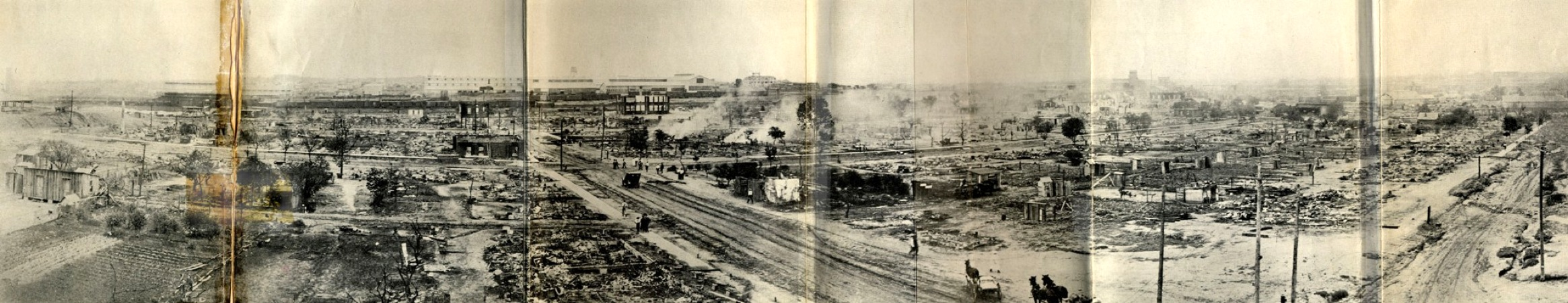 Greenwood, Oklahoma before the race riots