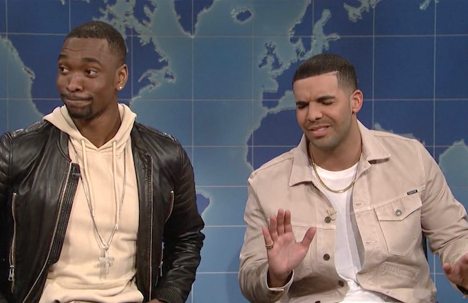 Drake Has a Problem With Jay Pharoahs Impersonation of Him in Hilarious SNL Sketch news