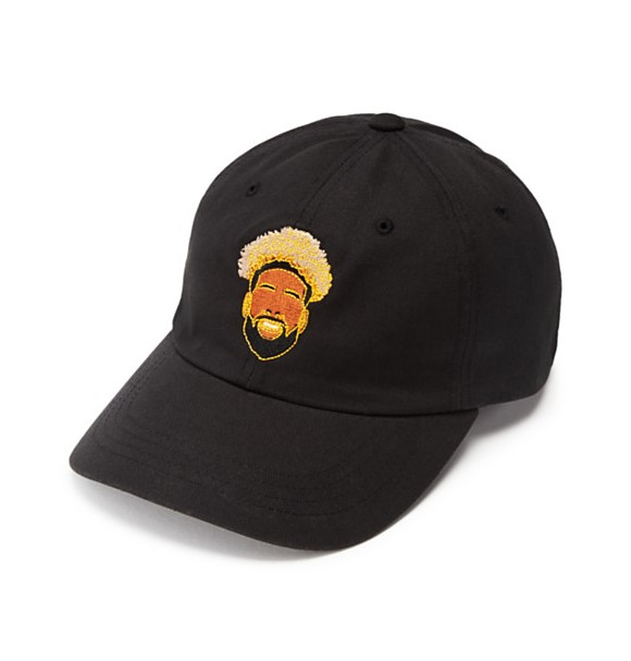 Odell Beckham Jr's hat with Bloomingdale's