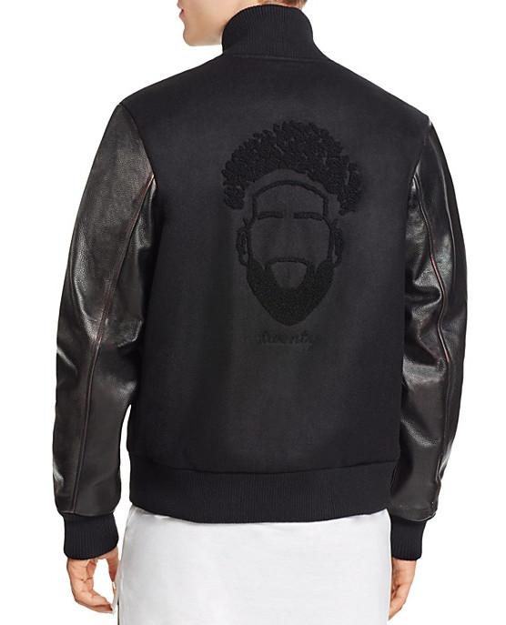 Odell Beckham Jr's jacket with Bloomingdale's