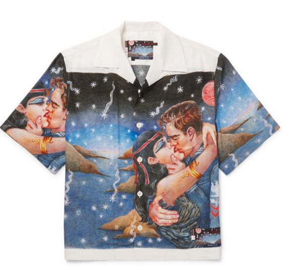 Prada shirt via Mr Porter
