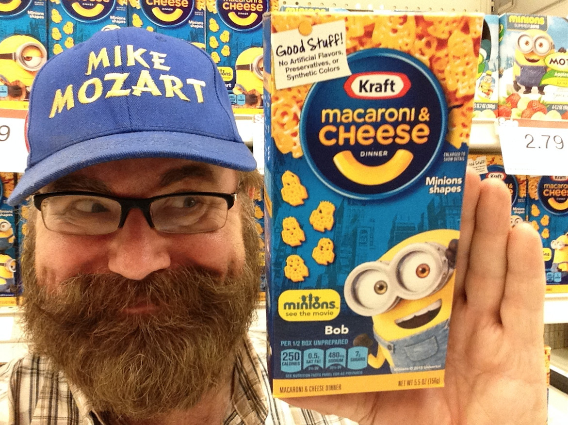 Mike Mozart Mac and Cheese