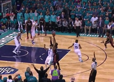 Dwyane Wade's Clutch Heroics Sting the Hornets and Force Game 7
