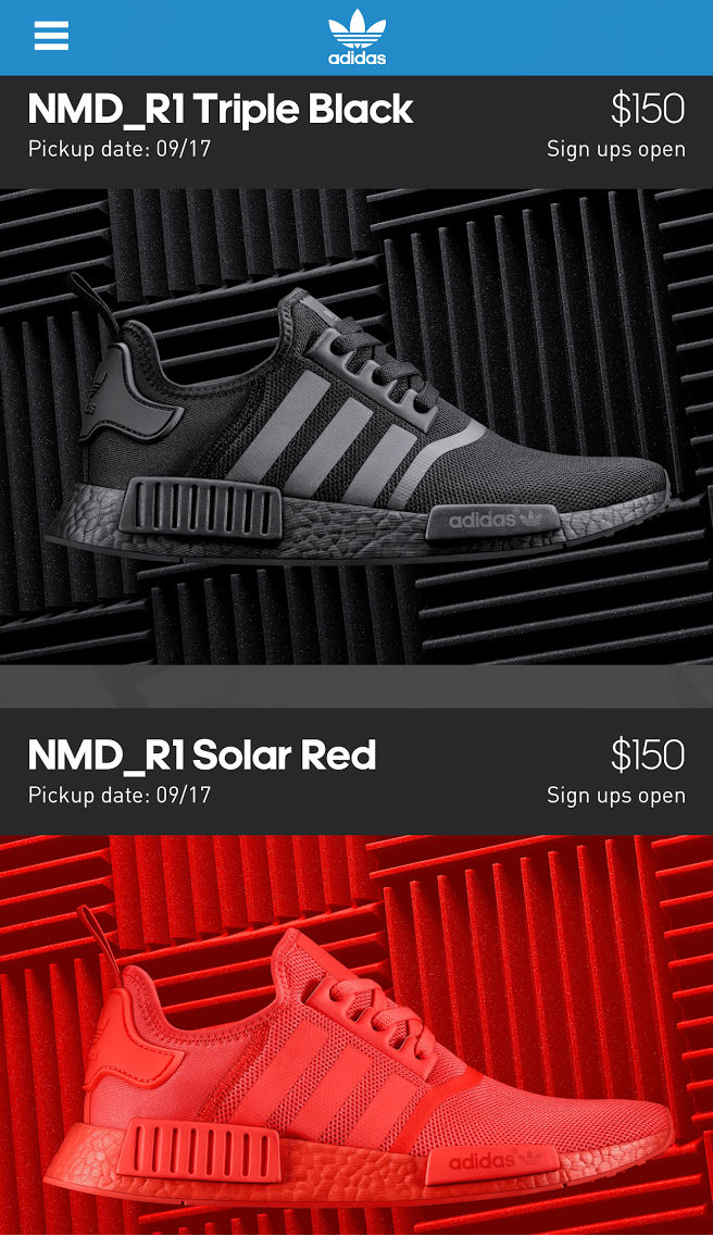 Adidas Nmd Black Solar Red Confirmed App Sole Collector