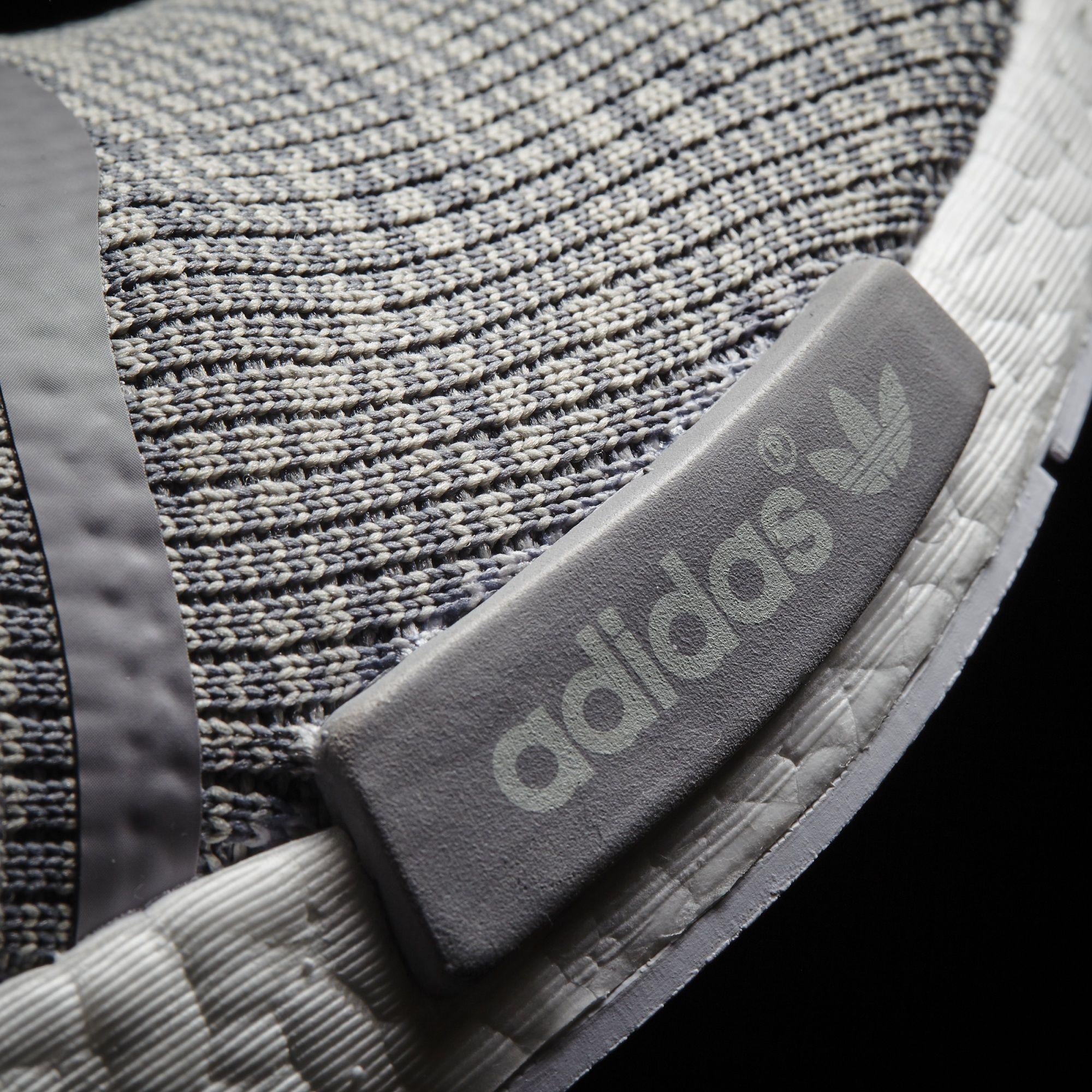 adidas NMD_R1 Glitch Solid Grey/White Midsole BB2886