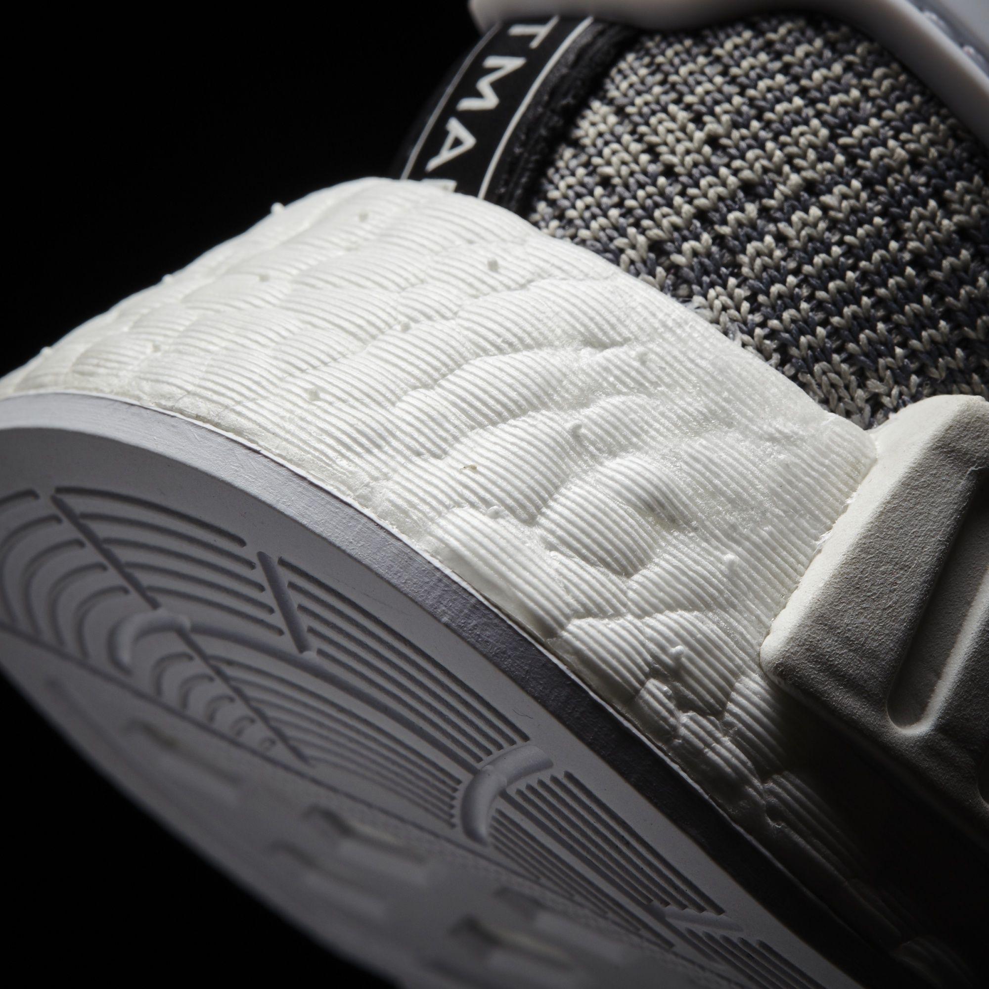 adidas NMD_R1 Glitch Solid Grey/White Heel BB2886