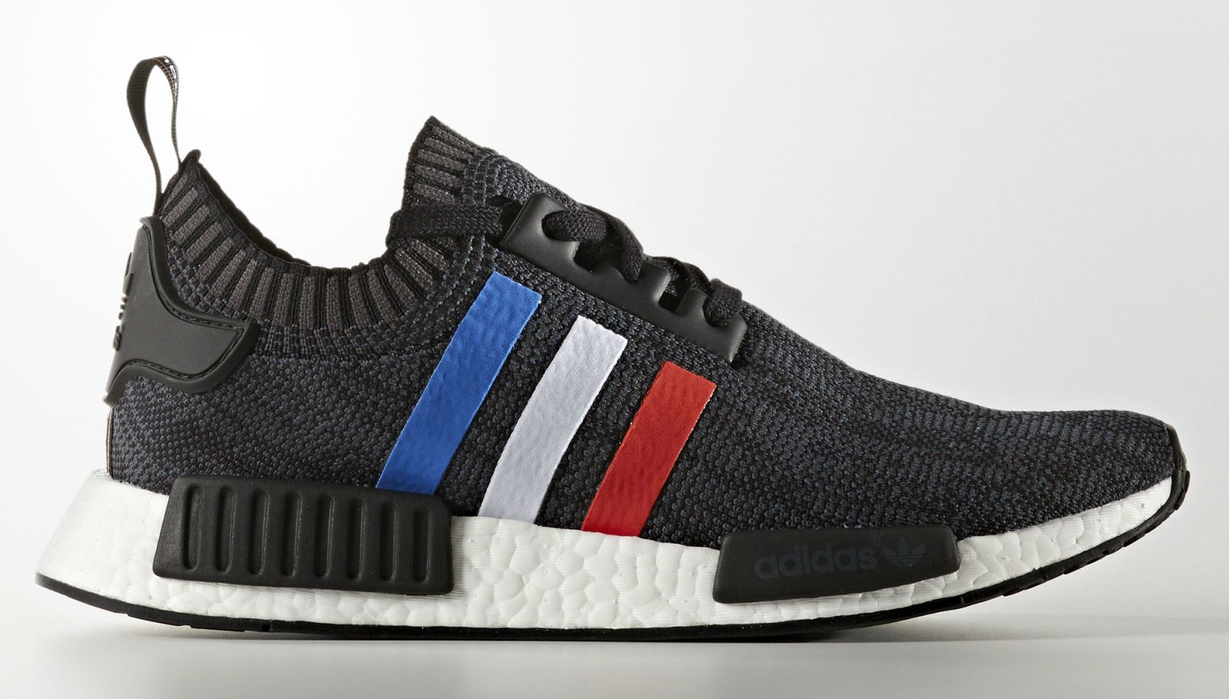 Adidas Nmd Primeknit Red White Blue Stripes Sole Collector