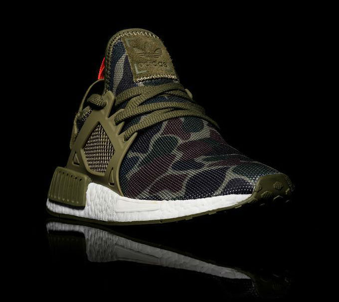 Get ready for the quot green camo quot adidas nmd xr1
