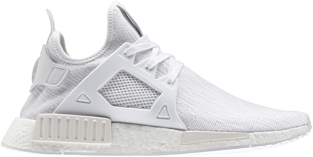 triple white adidas nmd xr1 sole collector. Black Bedroom Furniture Sets. Home Design Ideas