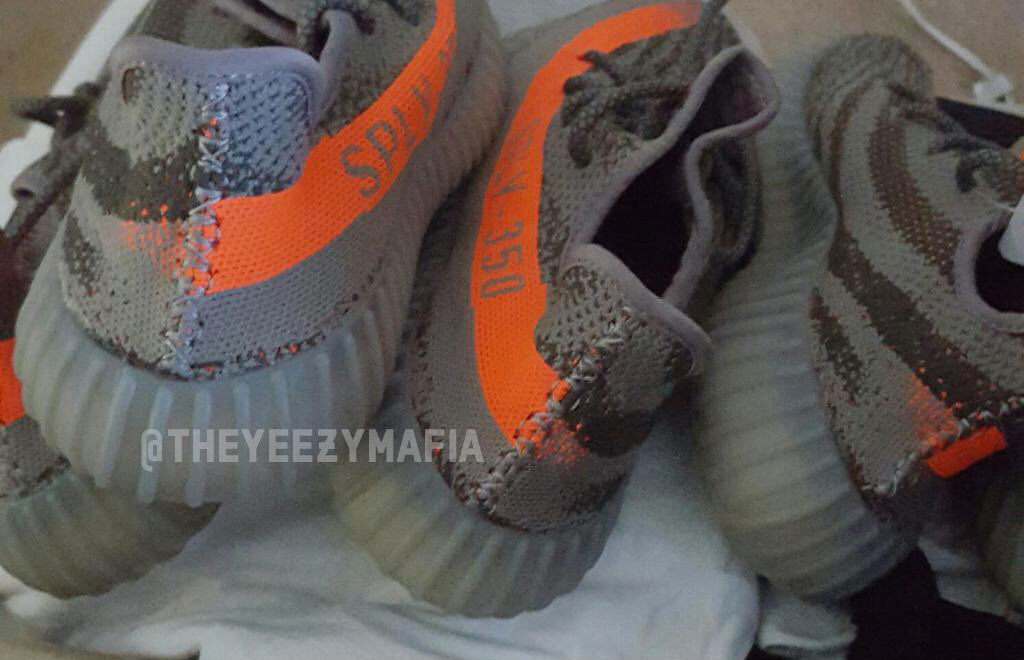 quality design 2efcc 8309c adidas Yeezy 350 Boost V2 Stealth Grey Beluga Solar Red BB1826 SPLY