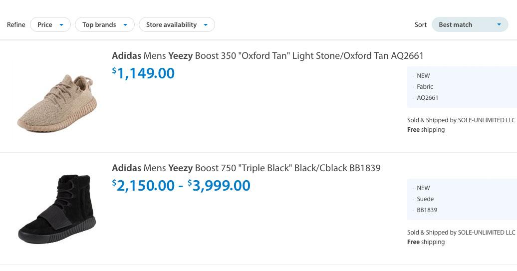adidas Yeezys at Walmart | Sole Collector