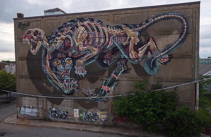 Nychos mural