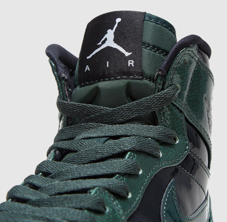 Air Jordan 1 High Grove Green Patent