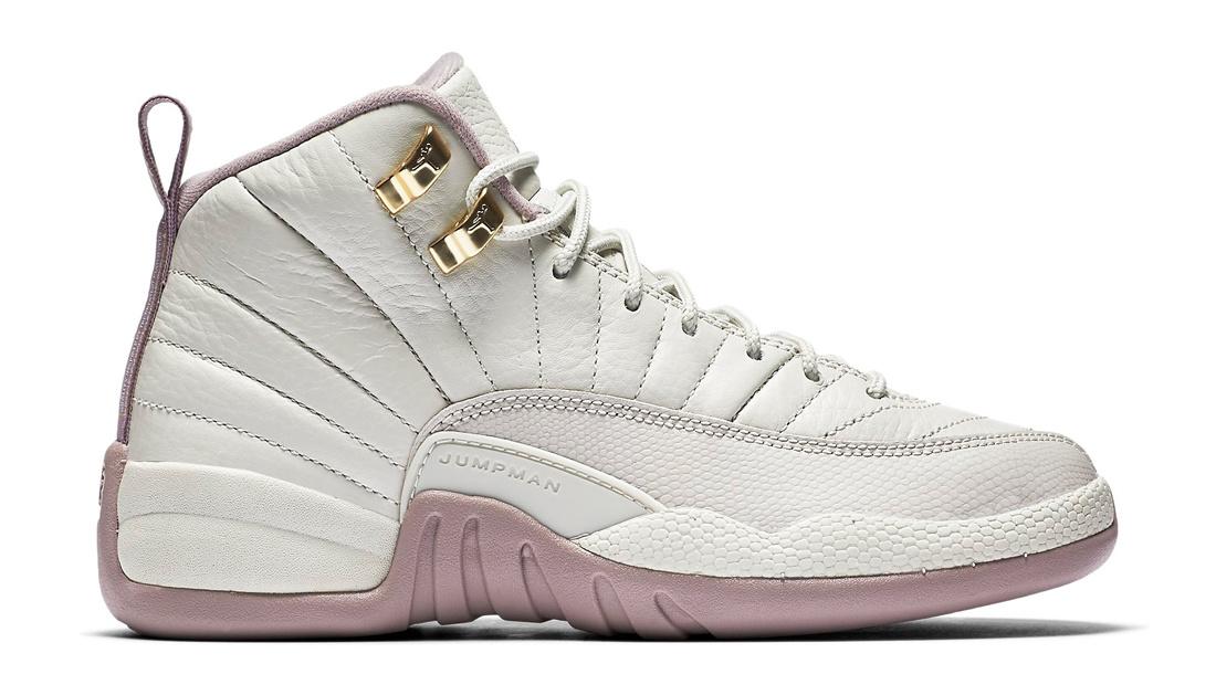 all white jordan 12