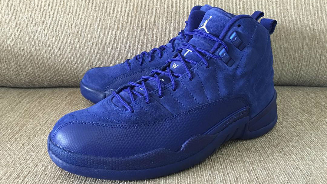 best sneakers 4d4cb 9b523 Jordan 12 Deep Royal Blue | Sole Collector