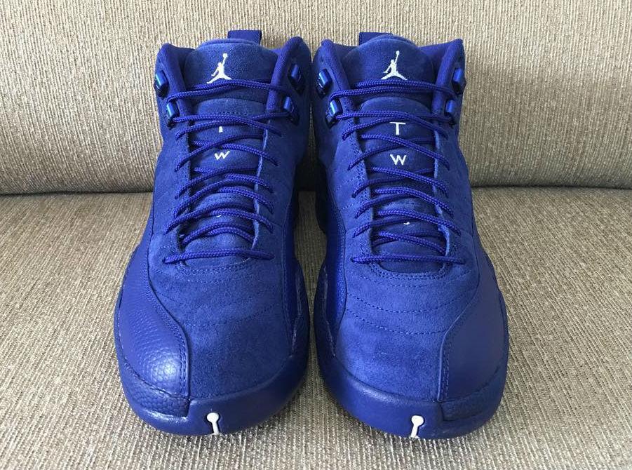Air Jordan 12+13 Womens Blue Green shoes