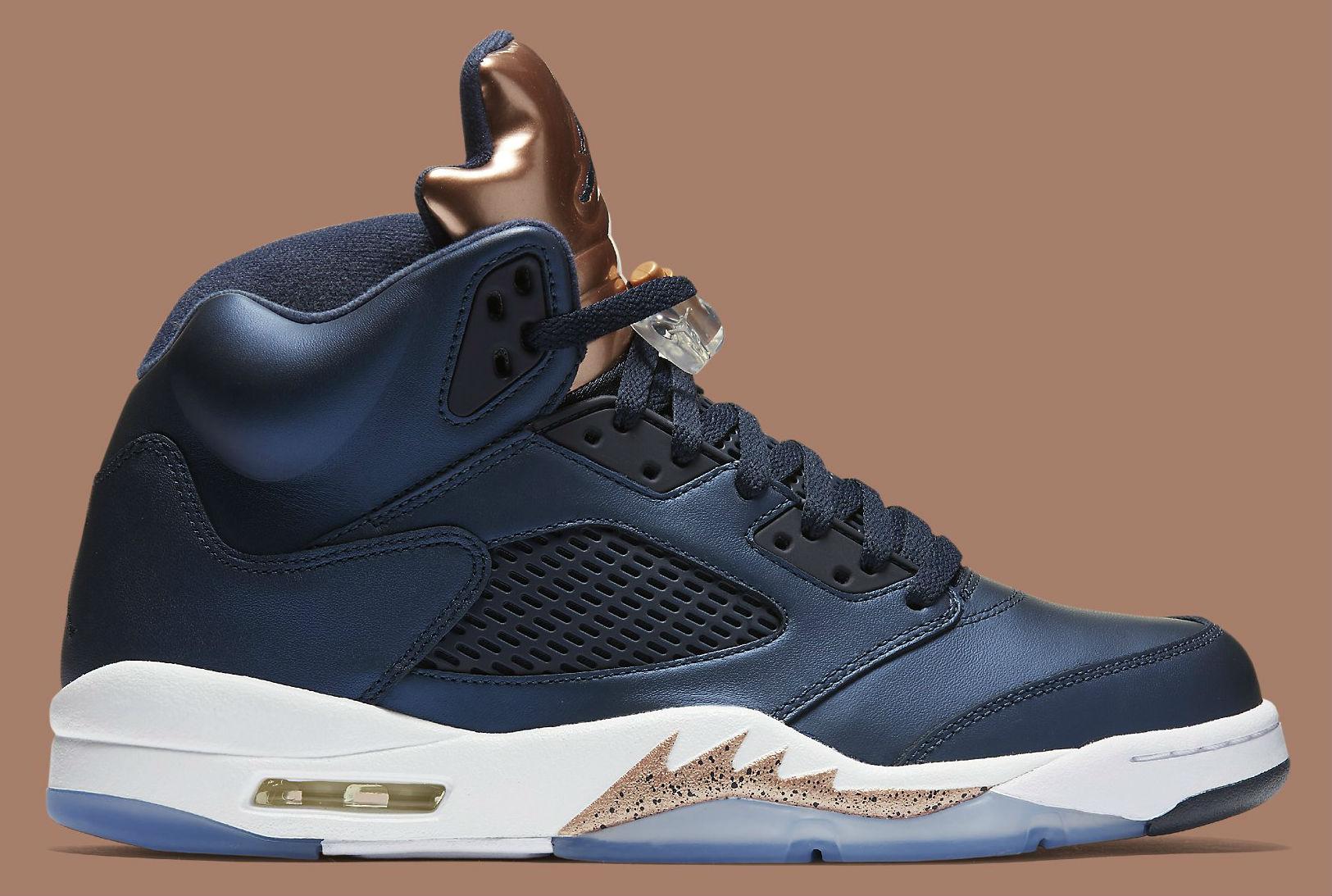 Air Jordan 5 Bronze Side 136027-416