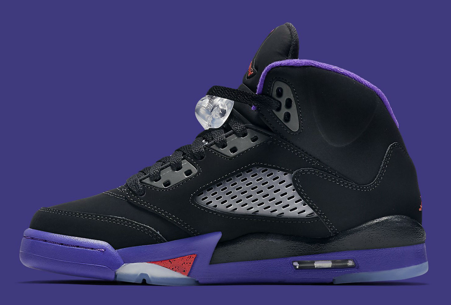 brand new d8f26 a7418 Air Jordan 5 Black Ember Glow Fierce Purple | Sole Collector
