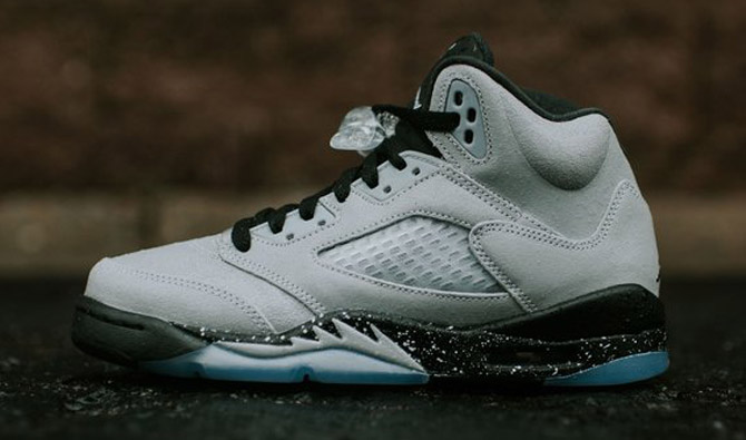 info for 34652 28a78 Wolf Grey Air Jordan 5 GG | Sole Collector