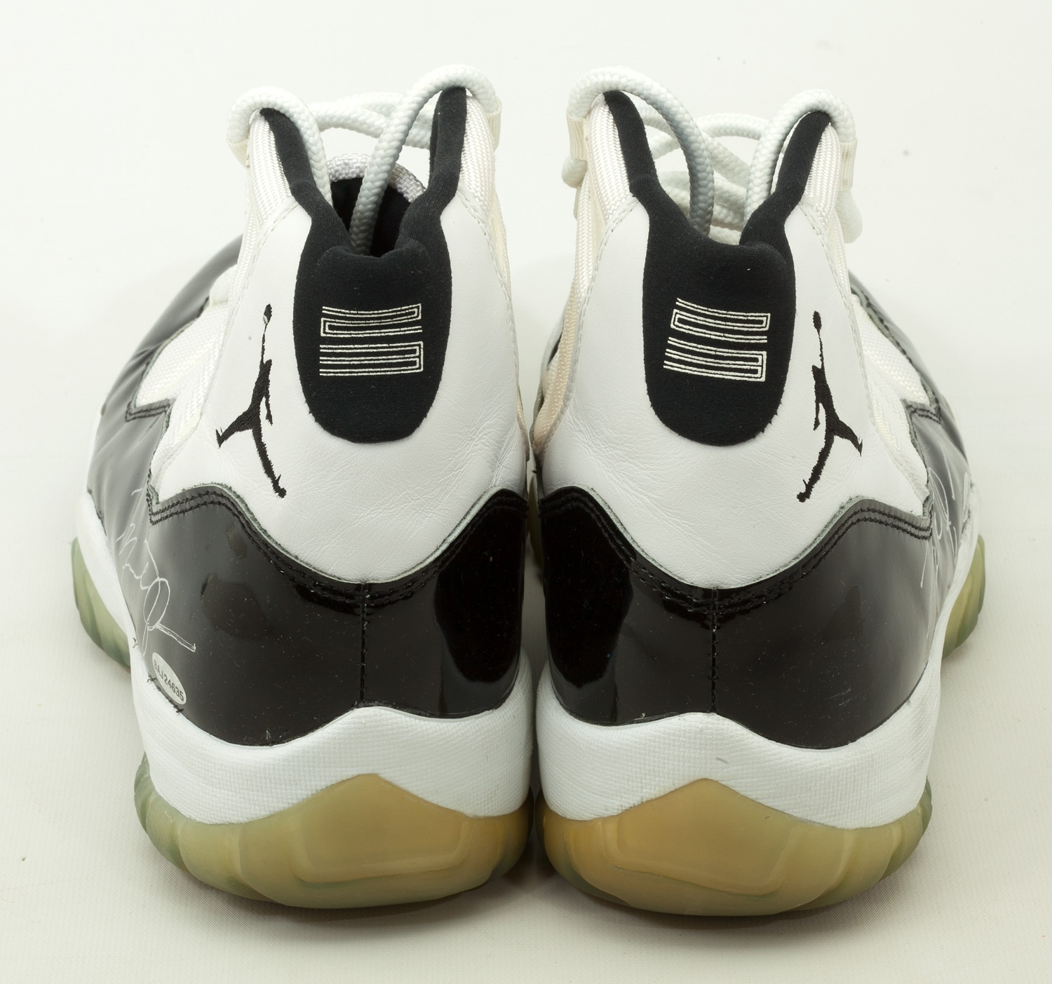 finest selection 0d207 524cf Air Jordan 11 Concord Game Used Auction | Sole Collector