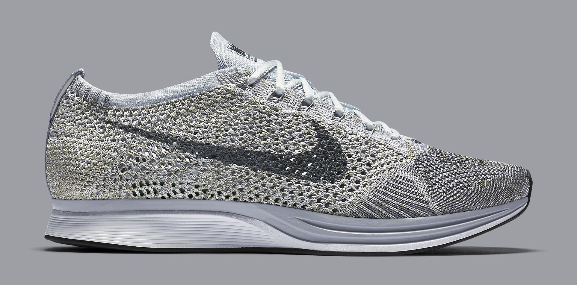 Nike Flyknit Racer Pure Platinum 862713 002 | Sole Collector