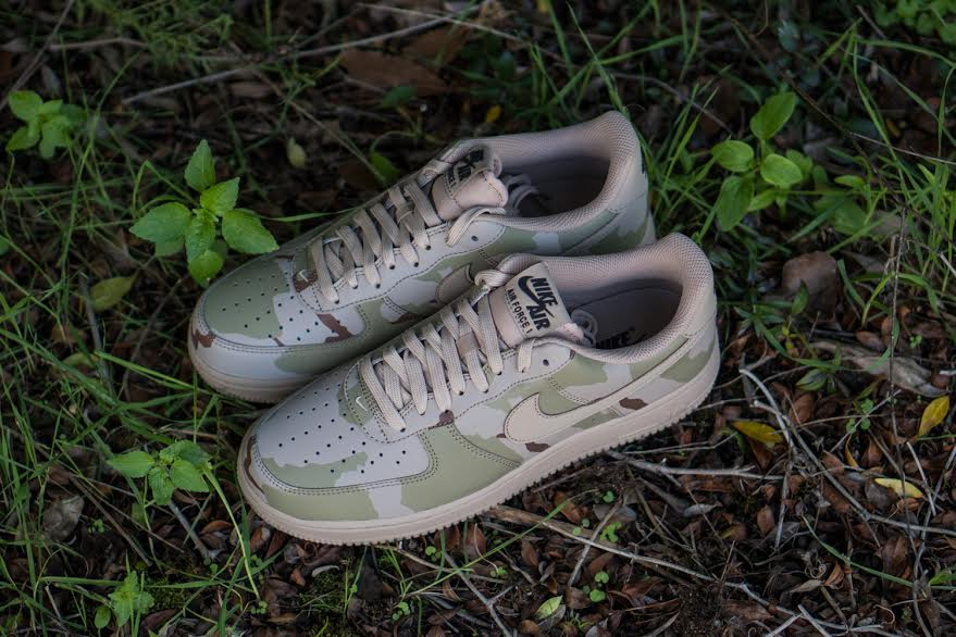 Nike Air Force 1 07 LV8 Desert Camo 718152 204 | Sole Collector