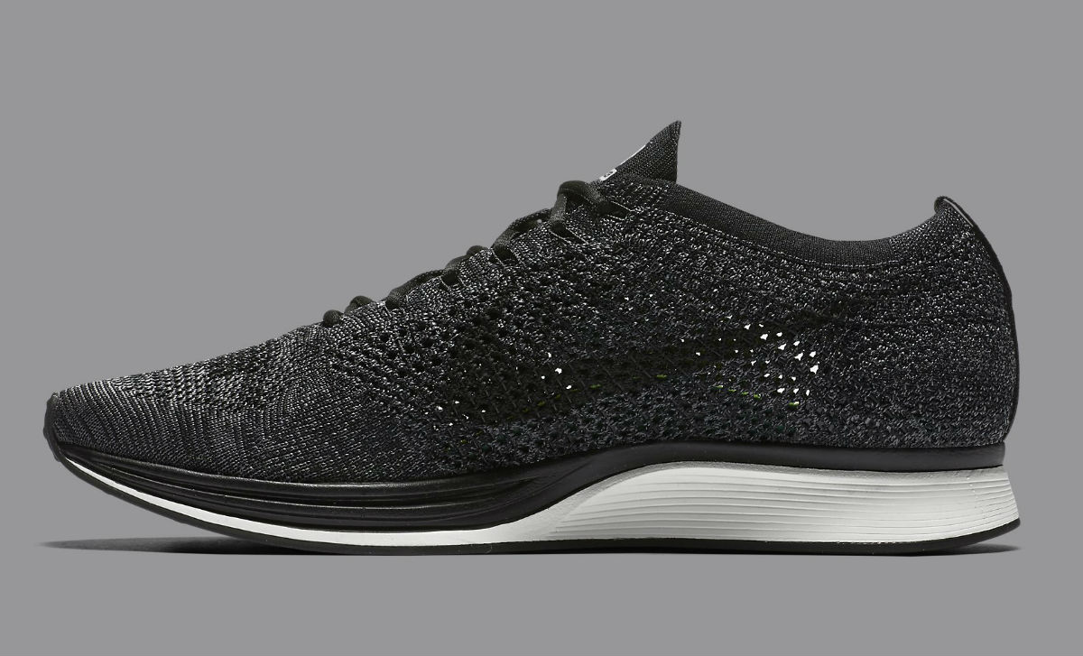 Nike Flyknit Racer Black Knit by Night 526628-005 | Complex