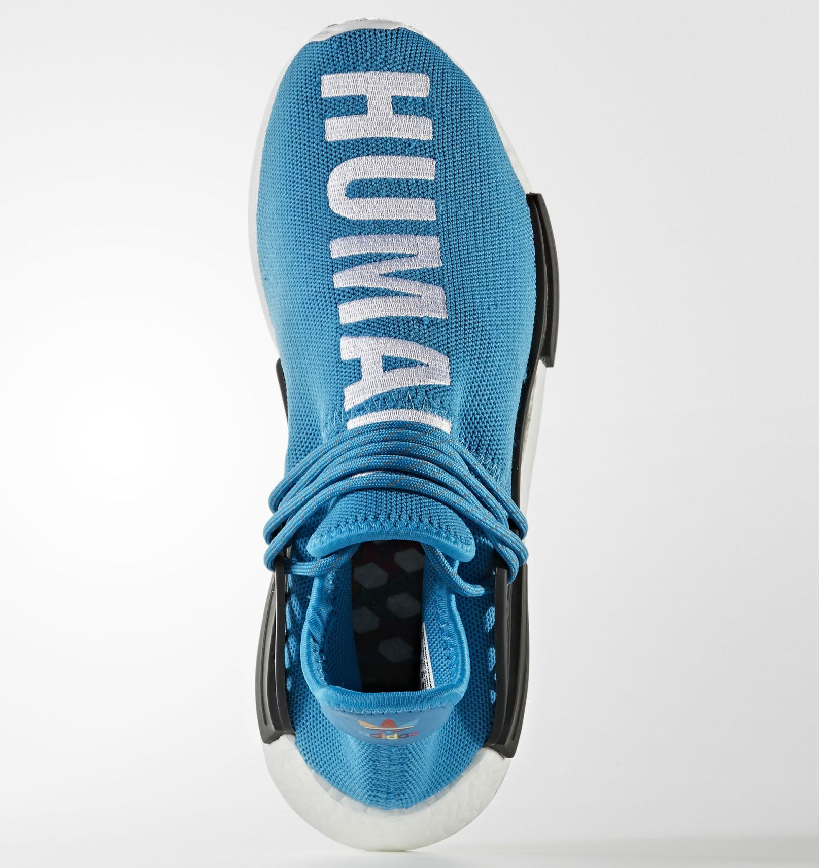 huge discount d63f2 ac0e7 Blue Pharrell adidas NMD Human Race | Sole Collector