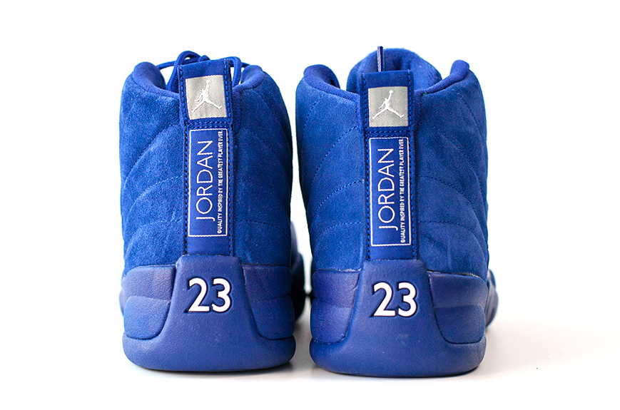 Air Jordan 12 130690-400 Blue Heel