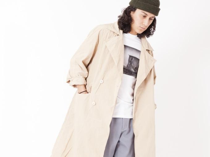 Unused Beige Shop Coat