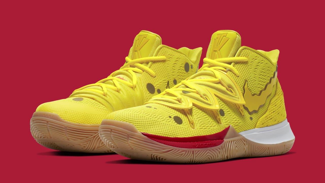 reduced price Spongebob Squarepants Nike Dunks Heels Yellow