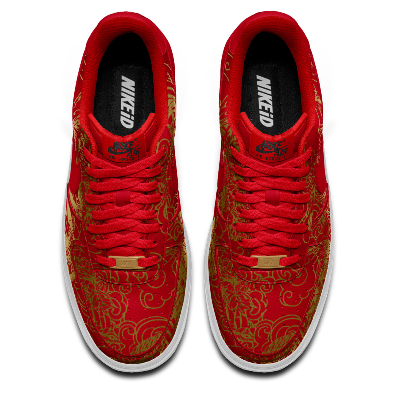 NIKEiD Air Force 1 Low Chinese New Year | Sole Collector
