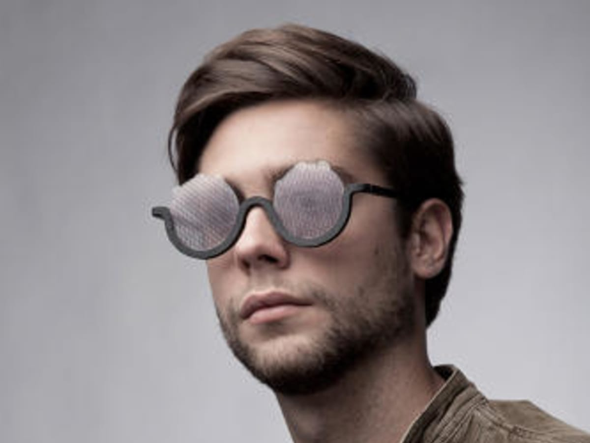 These 3D-Printed Sunglasses Were Designed to Simulate an LSD Trip