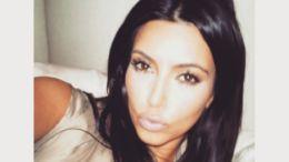 Kim Kardashian Updating Selfish