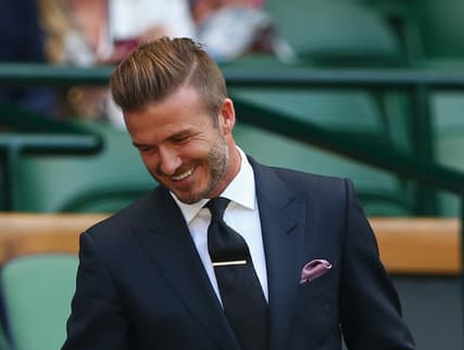 Is Daivd Beckham The Haistyle Trendsetter For The Disconnected