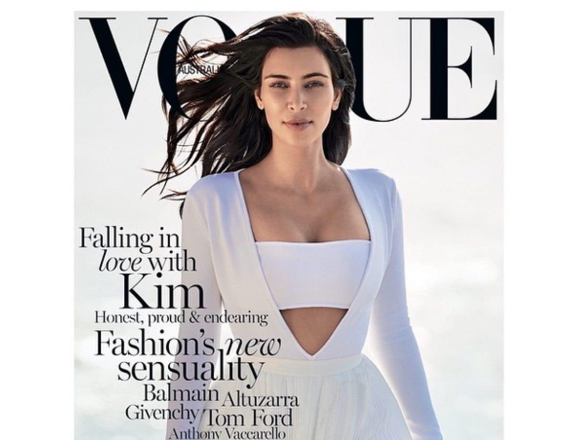 Kim Kardashian Reveals Her Australian Vogue Cover Complex