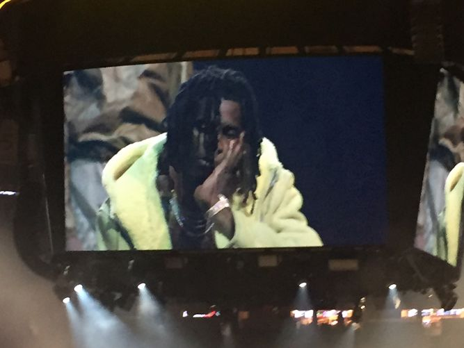 Young Thug Walked in Kanye Wests Yeezy Season 3 Show at MSG news