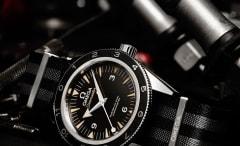 "James Bond's latest timepiece, the OMEGA Seamaster 300 ""Spectre"""