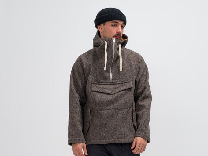 Arpenteur Wool Anorak