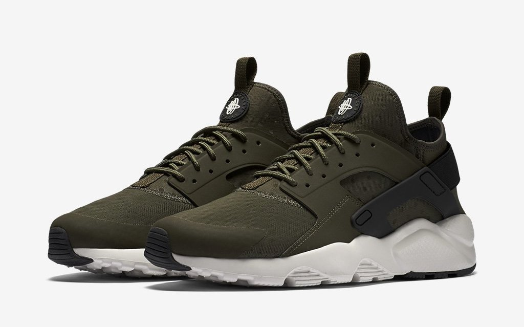 Nike Air Max 90 Ultra Air Huarache Ultra Cargo Khaki | Sole