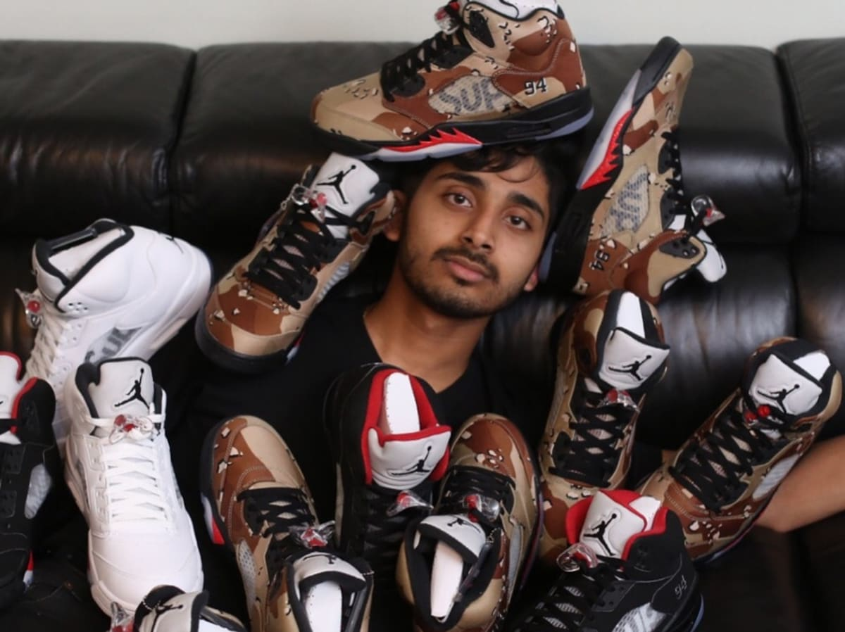 A Reseller Came Up With the Most Ridiculous Way to Flip His Supreme x Air Jordans
