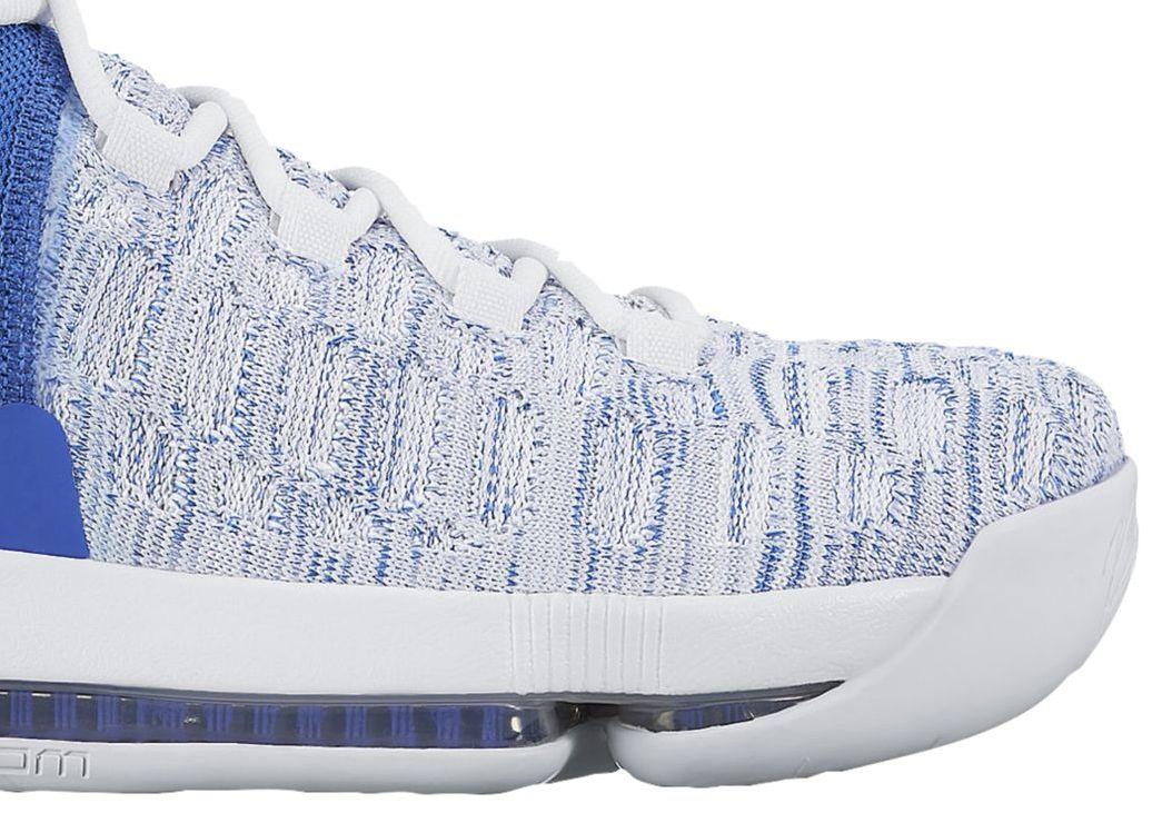 super cute c7bba e74a6 Nike KD 9 Home II White Blue Release Date 843392-411   Sole ...