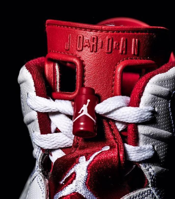 Air Jordan 6 Hare Tongue Front